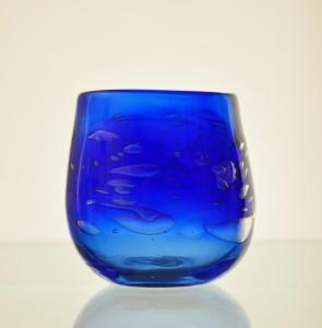 泡タル形グラス